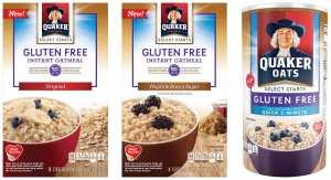 quaker-oatmeal gluten free